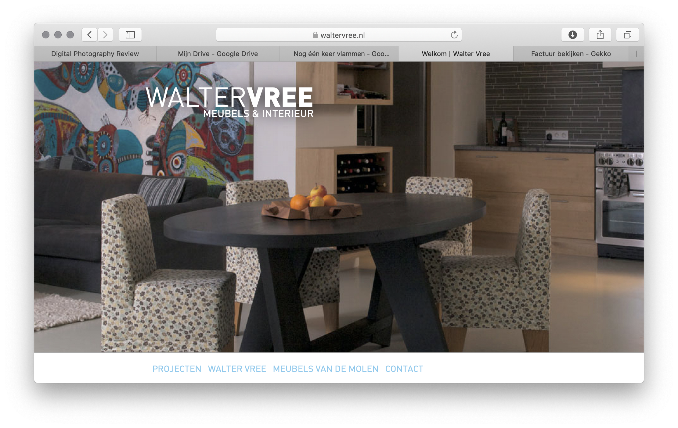 Walter Vree website